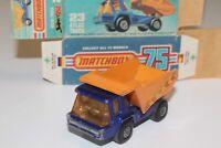 Vintage Lesney Matchbox Superfast No. 23 B Atlas Dump Truck with Original Box