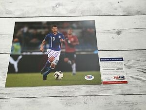 Sebastian Giovinco Signed Italy Italia 8x10 Photo PSA/DNA COA Autographed e