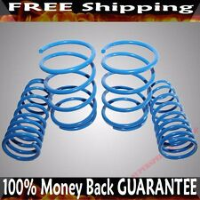 "BLUE Coil Lowering Spring Set 1.5"" Drop for 01-05 Honda Civic Sedan/Coupe"