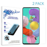 2-Pack For Samsung Galaxy A51 Tempered Glass Screen Protector