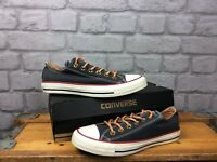 CONVERSE UK 5 EU 37.5 CHUCK TAYLOR ALL STAR LO SPECIALTY OX BLUE WHITE TRAINERS