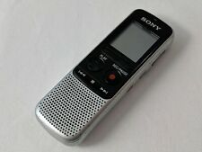 Sony Ic Recorder Icd-Bx132 Silver Handheld Digital Voice Recorder