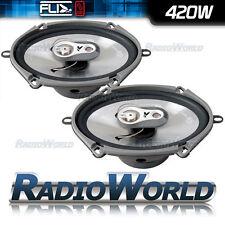 "FLI FI57 5x7"" Ford Fiesta Mk6/6.5 3 way Car Coaxial Door Speakers 420W Pair"