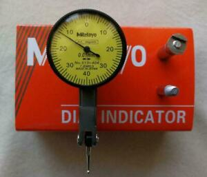New Mitutoyo Dial Test Indicator 0-0.8mm 513-404 0.01mm