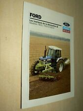 Prospectus Tracteur FORD NEW HOLLAND 8210   Tractor Traktor Prospekt Brochure