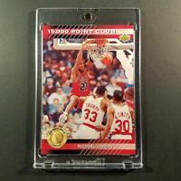 MICHAEL JORDAN 1993 UPPER DECK #PC4 15,000 POINT CLUB INSERT CHICAGO BULLS NBA
