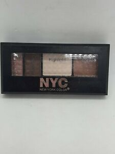 NYC New York Color Metro Quartet Eyeshadows Collection 817A South Street Seaport