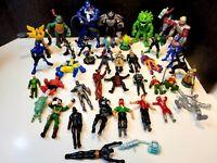 Various Action Figure Lot Marvel DC Comic Playmates Toys Star Wars Batman  Ninja