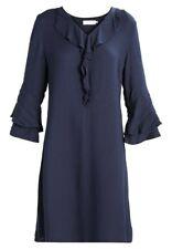 Cream IMAN Freizeitkleid DUNKELBLAU Kleid für Damen Gr. 40 A3529