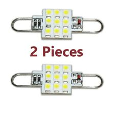 RED Rigid Loop LED 44mm Festoon Bulb 9SMD Interior Door Dome Light 561 562 564