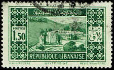 Scott # 122 - 1930 - ' Beit-ed-Din Palace '