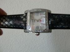 Ladies Michele Watch With Diamond Bezel, Model 717300CST71154