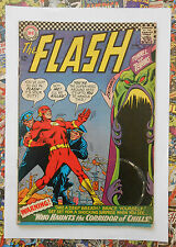 THE FLASH #162 - JUN 1966 - VARDAR VARR APPEARANCE! - FN- (5.5) CENTS COPY