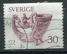 TIMBRE SUEDE SVERIGE ART ANTIQUE