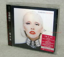 Christina Aguilera Bionic Taiwan Ltd CD w/OBI Bonus 5 track+20P (3D cover)