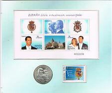 PRODUCTO ESPECIAL ESPAÑA'2004 ( Moneda 12 Euros + H. Bloque)