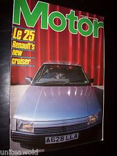 MOTOR MAGAZINE July'84 Shell Mileage Marathon, Jag XJS, Nissan 300ZX Targa Turbo