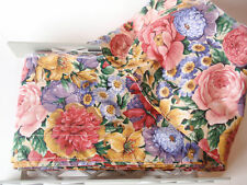 Hirschberg Schutz Multicolored Floral Wide Wired Ribbon Fabric 12yds All Cotton