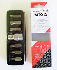YATO YT-0410 TORX JUEGO BROCAS DE DESTORNILLADOR 7 pzas 1.3cm 10 mm T25 T30 T40