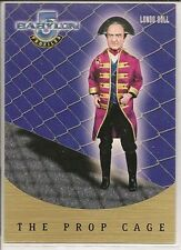 Babylon 5 Profiles Trading Cards The Prop Cage Chase Card PC10 Londo Doll