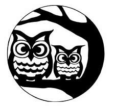 owl vinyl Decal / Sticker