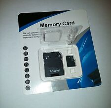 64GB microSD SDXC Flash TF Memory Card Class 10 Micro SD Free SD Adapter Retail