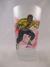 Luke Cage, Power Mant ~ Retired, OOP ~ Frosted Glass ~ Toon Tumbler from Popfun
