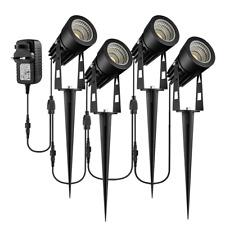 Garden Spotlights Mains Powered, B-right 4-in-1 LED Garden Lights 12V Low IP65
