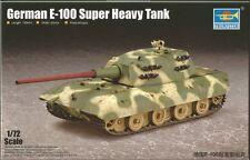 Trumpeter 1/72 modèle kit 07121 german E-100 super heavy tank