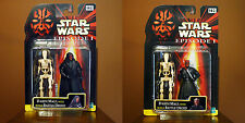 Set of 2 Star Wars Darth Maul/Battle droid 2-pack figures by Hasbro