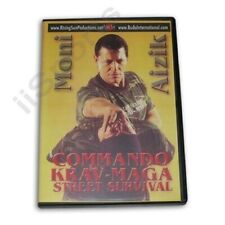 Israeli Commando Krav Maga Street Survival Training Dvd Moni Aizik