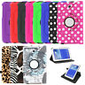 360 Rotating PU Leather Case Cover For Samsung Galaxy Tab A 7.0 8.0 9.7 10.1