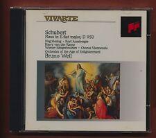 VIVARTE. Schubert. Mass. Bruno Weil. Hering, Azesberger. Sony.  CD  st3.57