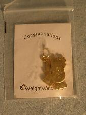 New Weight Watchers Gold Tone 16 Week Award Charm Clapping Hands NIP