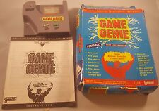 Game Genie Game Enhancer Cheats! Nintendo Game Boy Complete Cleaned Tested Rare!