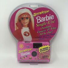 Vintage Baywatch Barbie Single Use Camera Nos Sealed Package