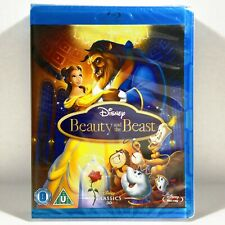 Walt Disney's - Beauty and the Beast (Blu-ray, 1991, Widescreen) Brand New !