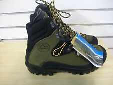 LA SPORTIVA KARAKORUM MENS MOUNTAINEER COMBAT HIKING BOOT GREEN SIZE US 9.5