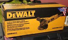 "DeWalt 4-1/2"" Small Angle Grinder DWE4011 FACTORY SEALED FREE SHIPPING"