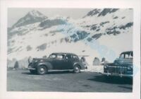 Packard Car  Switzerland  Julier Pass  in 1951 3.25  x 2.25 inches