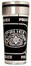 16 Oz Police Stainless Steel Travel Tumbler Mug Serve & Protect - FREE SHIPPING!