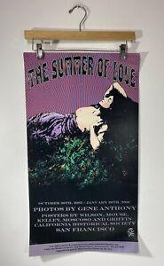 "Summer of Love Poster San Francisco 27"" x 15"" 2005-2006 Gene Anthony"