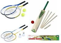 SUMMER GARDEN OUTDOOR BEACH PARTY FUN BADMINTON / TENNIS / CRICKET / LIMBO GAME