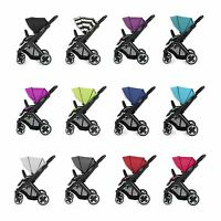 BabyStyle Oyster 2 Black Chassis Baby/Childs/Kids Pushchair/Pram/Stroller/Buggy
