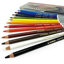Stabilo CarbOthello Tiza Pastel Colorante Lápices – Regalo Lata de 12 Colores
