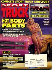 SPORT TRUCK MAGAZINE April 1993  articles - 93 Ranger Chevy Tran Upgrade