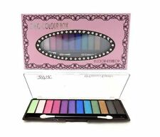 Saffron 12 Colour Eyeshadow Chic Box  Double ended applicator