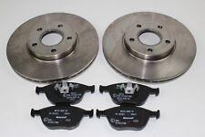 Discos de Freno Originales + Forros Delantero Ford Connect 1930982+2177227