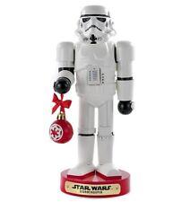 "Kurt Adler Star Wars Storm Trooper With Ball Ornament 10"" Christmas Nutcracker"