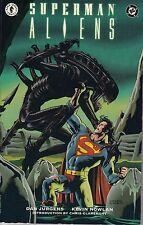 SUPERMAN VS ALIENS  TPB ......VF+...1996.. ..DHP/DC COMICS....Bargain!